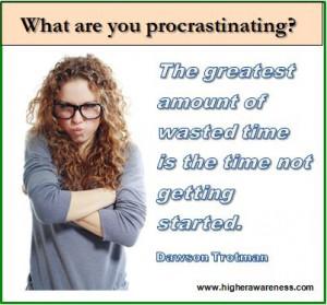 6 - procrastination