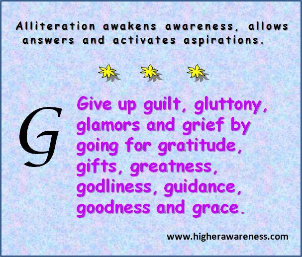 Higher Awareness Sharing » Blog Archive G's - Higher